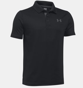 Under Armour Performance Junior Polo Zwart