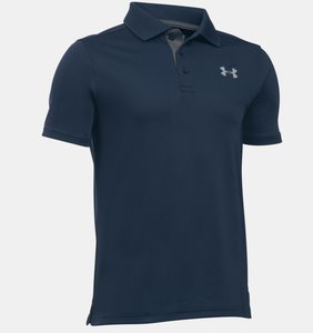Under Armour Performance Junior Polo Navy