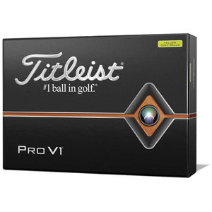 Titleist ProV1 Golfballen Geel