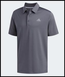 Adidas Ultimate 365 Golf Poloshirt Charcoal