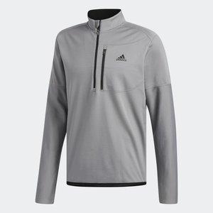 Adidas Climawarm Gridded Layer Sweatshirt Grau