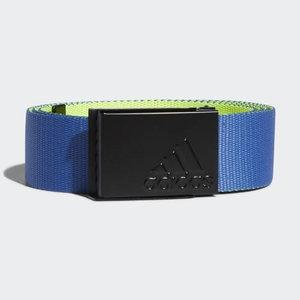 Adidas Reversible Webbing Belt Blauw Lime