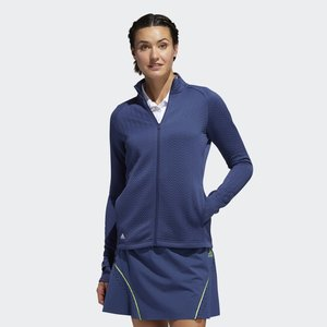 Adidas Textured Layer Golf Sweater Navy
