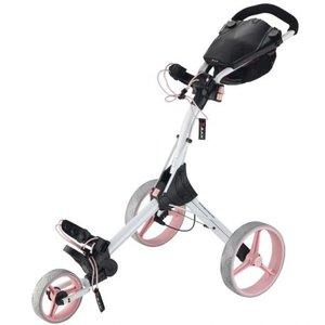 Big Max IQ+ Golftrolley Wit Pink
