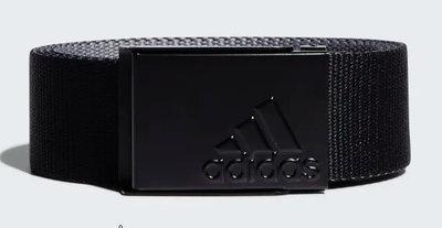Adidas Reversible Webbing Belt Zwart grijs