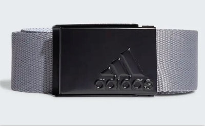 Adidas Reversible Webbing Belt Wit Grijs