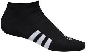 Adidas 6 paar Heren Golf Sokken kort Zwart Maat 39-43