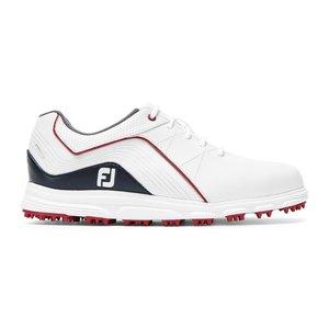 Footjoy Pro SL Junior golfschoenen White Navy Red