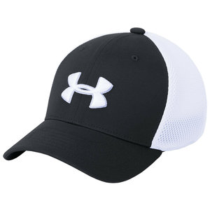 Under Armour Classic Mesh Kinder Cap Zwart Wit
