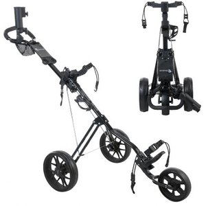 Cougar Track Golf Trolley Zwart