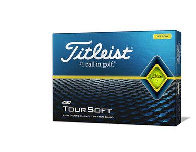 Titleist Tour Soft Golfballen Geel