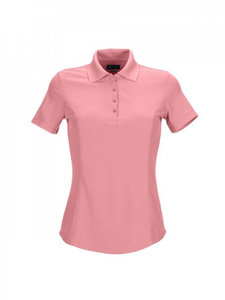 Greg Norman Pro Tek Pique Dames Polo Roze