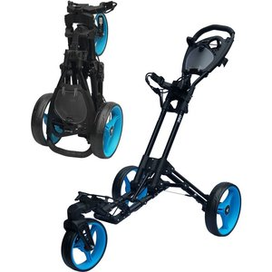 Fastfold 360 Zwart Hanana Blauw Golftrolley
