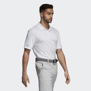 Adidas Performance Golf Polo Shirt Wit