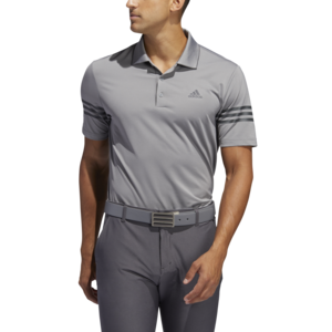 Adidas Ultimate 365 blocked Golf Poloshirt Grijs 3 Stripes