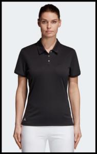 Adidas Tournament Dames Polo Zwart