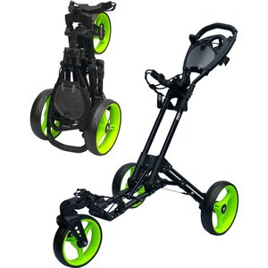 Fastfold 360 Zwart Hanana Lime Golftrolley