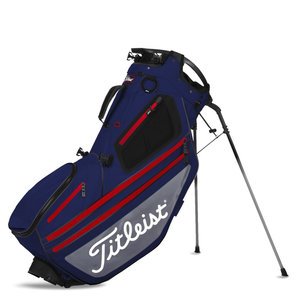 Titleist Hybrid 14 Standbag Black Navy Grey