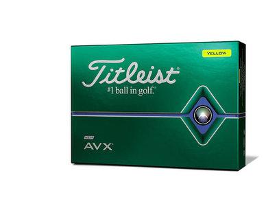 Titleist AVX Golfballen Geel