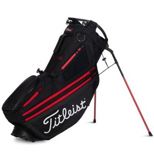 Titleist Hybrid 14 Standbag Black Red
