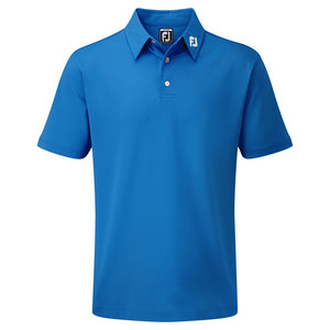 Footjoy Stretch Pique Solid Polo Junior Cobalt
