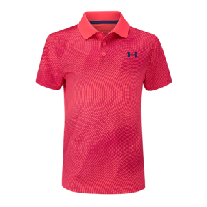 Under Armour Performance Junior Polo Novelty Fluor