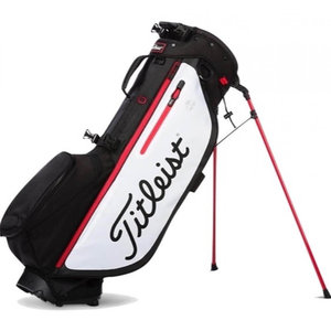 Titleist Players 4 Plus Standbag Black White Red