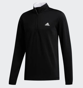 Adidas Core Heather 1/4 Rits Zwart