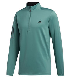Adidas Core Heather 1/4 Rits Emerald
