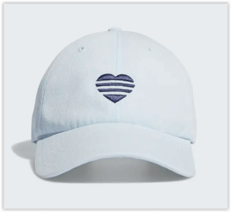 Adidas 3 Stripes Heart Cap Blue