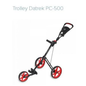 Datrek PC500 Golf Trolley Zwart Rood