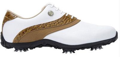 Footjoy ARC LP Wit Bruin Dames Golfschoenen