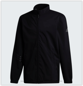 Adidas Provisional Golf Regenjas Zwart