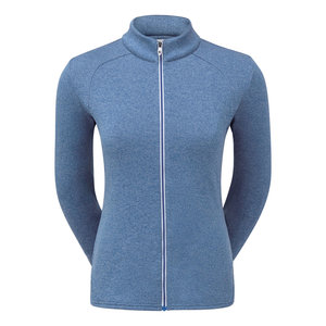 Footjoy Dames Full-Zip Chill-Out Heather Royal