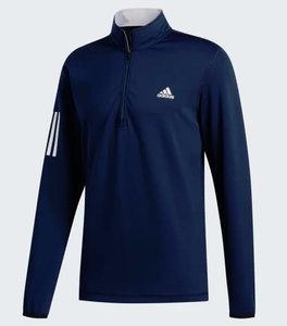 Adidas Core Heather 1/4 Rits Navy