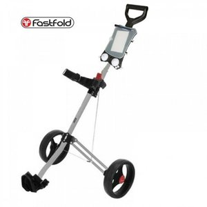 Fastfold Eco Light Golftrolley Zilver