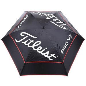 Titleist 20 Tour Double Canopy Zwart UV Golfparaplu