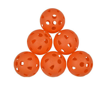 Masters Airflow XP Practice Balls Orange