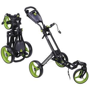 Fastfold 360 Golftrolley Zwart Groen