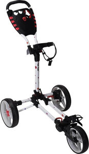 Fastfold Flat Golftrolley White Flowers