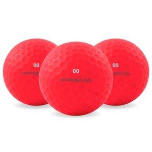 Masters Prisma Fluoro Golfballen Rood
