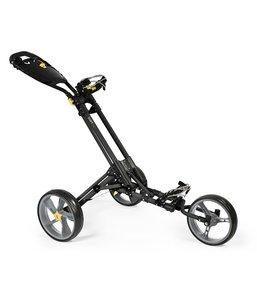 iCart One 3 Wiel Golf Trolley Black Grey