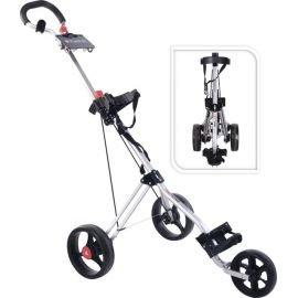 Fastfold Force 3 wiel Golftrolley Zilver