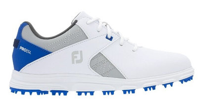 Footjoy Pro SL Kinder Golfschoenen Wit Blauw
