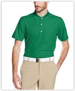 Greg Norman Performance Micro Pique Golf Polo Groen
