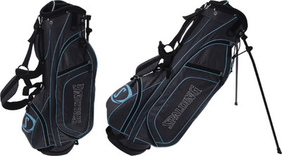 Spalding 7-inch Standbag Charcoal Turquoise