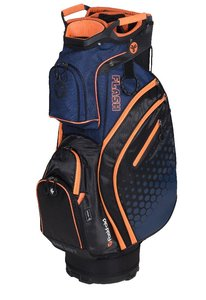 Fastfold Flash Cartbag Navy Orange
