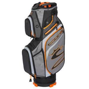 Cobra Ultralight Cartbag UL20 Charcoal Orange