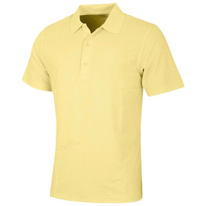 Greg Norman Performance Micro Pique Golf Polo Geel