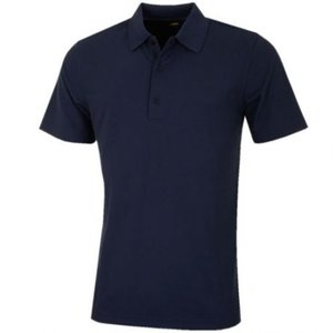 Greg Norman Performance Micro Pique Golf Polo Navy